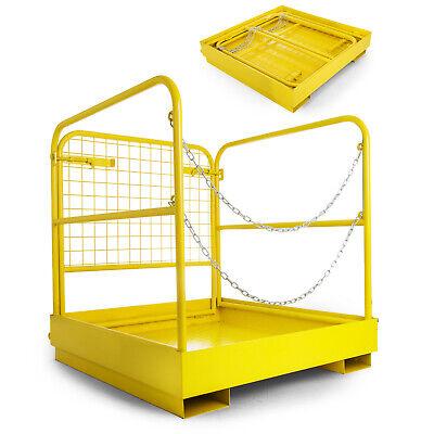 3636 Forklift Work Platform Safety Cage Durable Safe Non-slip Updated