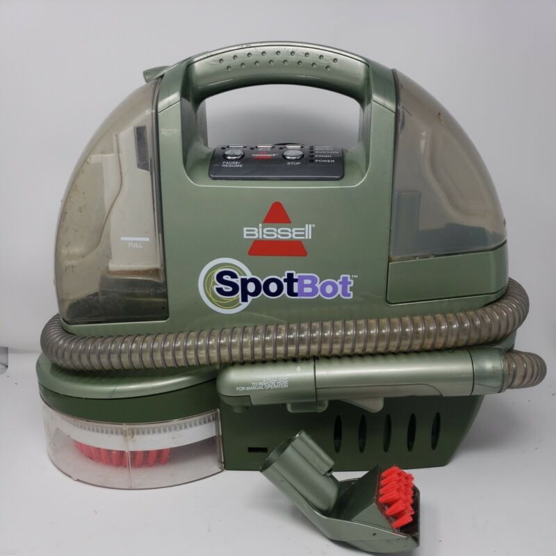 Bissell Spotbot Spot & Stain Carpet Cleaner Model 1200 - Portable