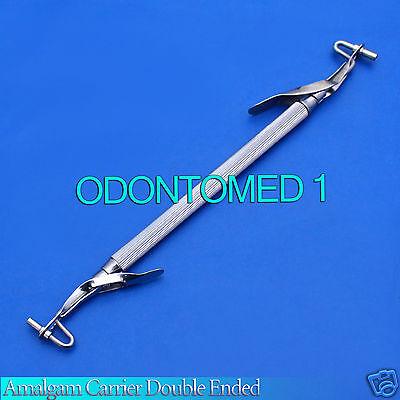 Ten Pieces Amalgam Carrier Double Ended Large
