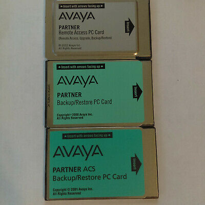 Avaya Partner Remote Access Pc Card 12g4 Rac R685.1 700252455x And More