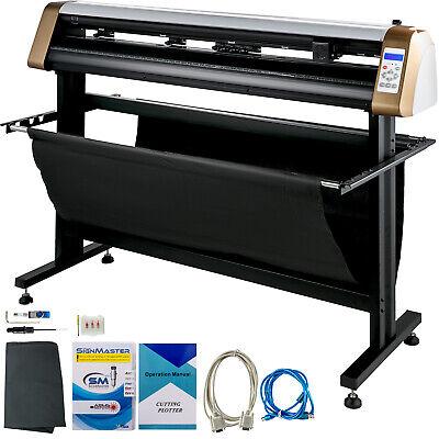 53 Vinyl Cutterplotter Sign Cutting Machine Wsoftware 3 Blades Lcd Screen