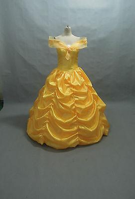 Übergröße Disney Kleid Schönheit und Biest Belle Kostüm (Belle Kostüm Übergröße)