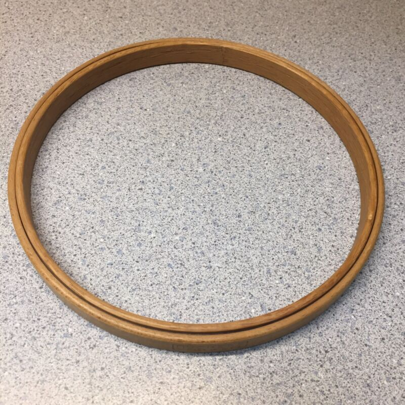 Vintage DUCHESS 6 inch Felt Lined Wood Embroidery Hoop VGC