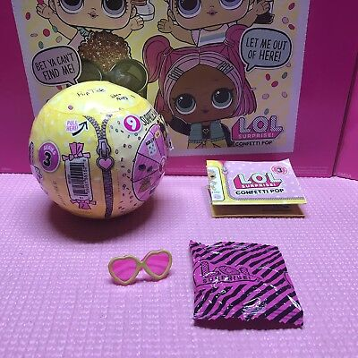 L.O.L Surprise Dolls ~ Series 3 ~ TOUCHDOWN ~ Sealed /& UNPOPPED!