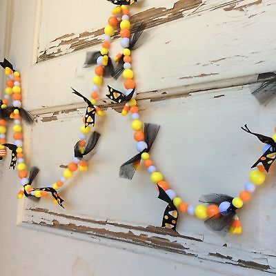 AG Designs Halloween Decor- Candy Corn Chunky Bead String Garland #17-722/01