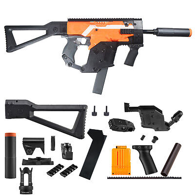 Worker Mod Kriss Vector Kits Combo 13 Items for Nerf Stryfe Toy Color Black
