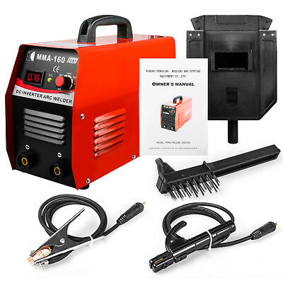 110v Igbt Inverter Welding Machine With Rod Holder Face Shield American Plug