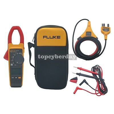 Fluke Wireless Clamp Meter Current Probe 376 Fc 1000a Acdc True Rms W Iflex