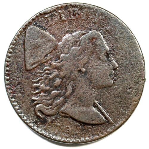 1794 S-32 R-2 Liberty Cap Large Cent Coin 1c