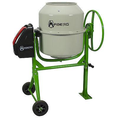 Usato, NEW CM200 Betoniera Maberg 200L 1000W 230V impastatrice elettrica cemento usato  La Riposa