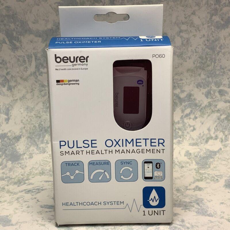 Beurer Germany P060 Pulse Oximeter Smart Health Management 1 Unit - New
