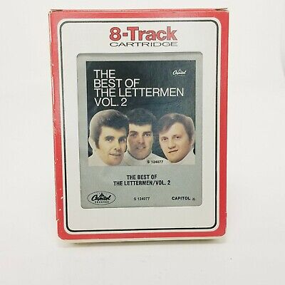 The Best of the Lettermen Vol 2 8 Track Cartridge Tape (The Best Of The Lettermen)