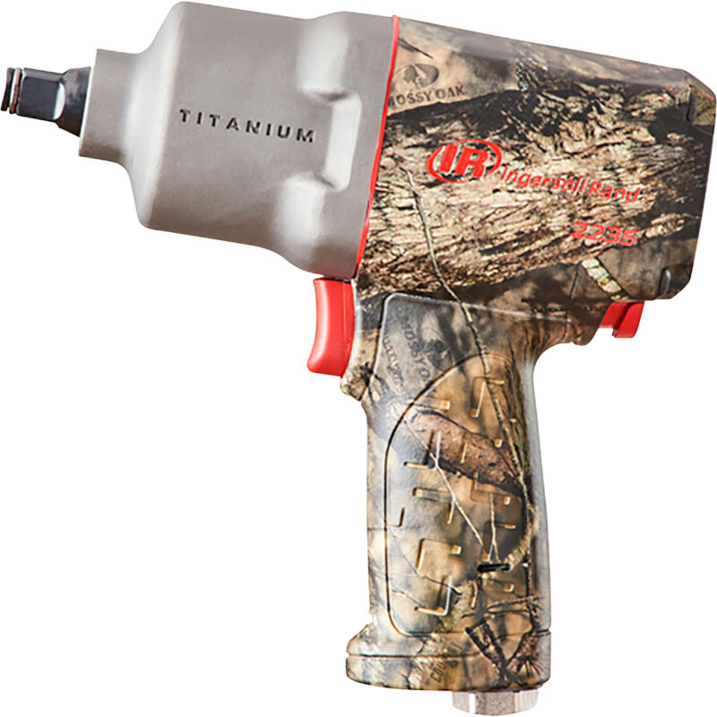 IR Impactool Camo Edition Air Impact Wrench.5 in Drive 1,350 ft/Lbs Max Torque