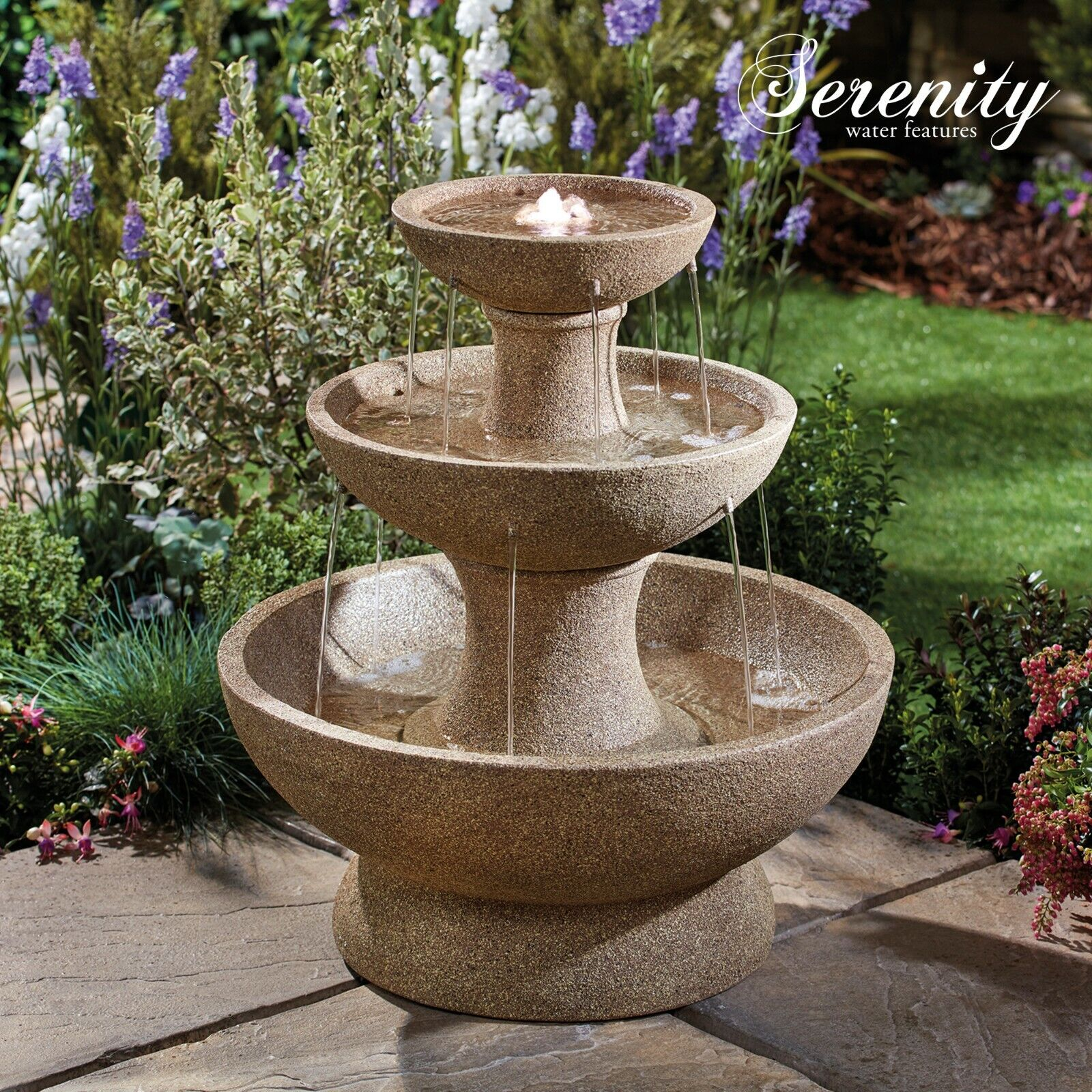 Tier Cascading Bowls Water Feature