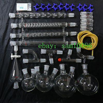 Lab Glassware Kitorganic Chemistry Laboratorylab Chemistry2429 Free Shipping