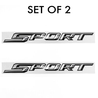 Set of 2: 2017-19 Ford F-150 F-250 pickup truck Sport off-road decal for bedside