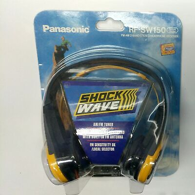 Panasonic Shockwave RF-SW150 AM FM Tuner Stereo Headphone Receiver for sale  Shipping to India