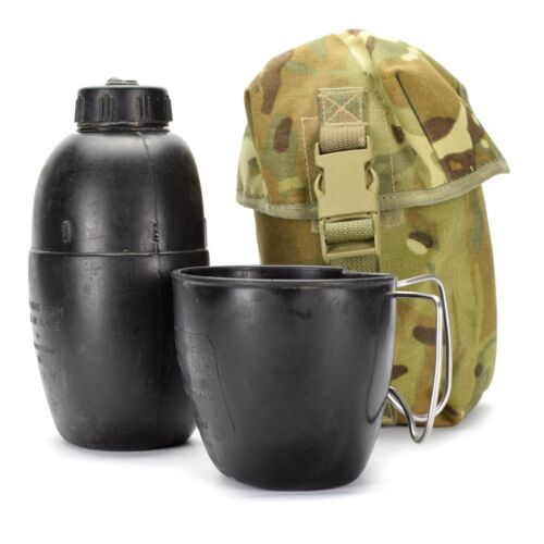 Genuine British army canteen mug water bottle osprey MK IV pouch military issue