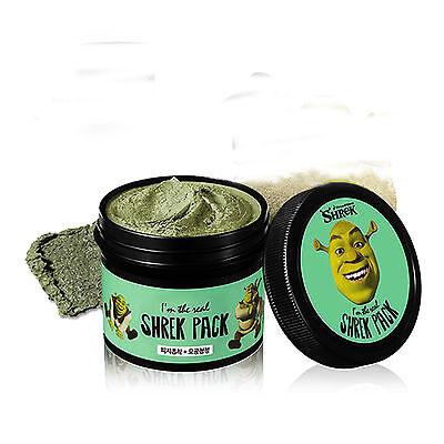 Shrek Pack Wash Off Mask 110 g Pore Care Scrub Olive Young Korean Cosmetics  - Shrek Makeup