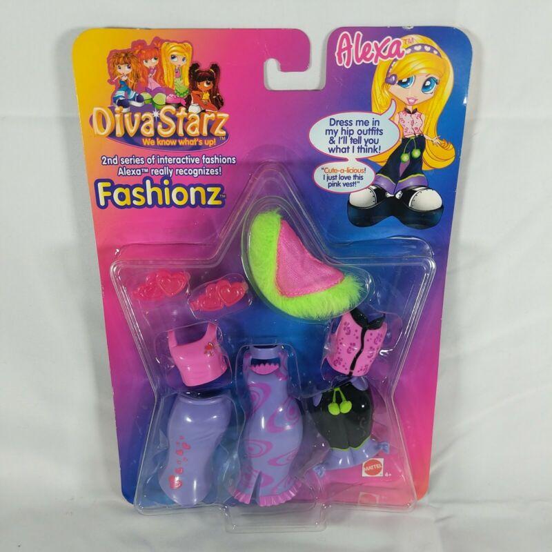 Diva Starz Fashionz for Alexa New Retired 2000 Mattel Toy