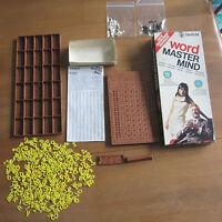 Word Mastermind Vintage 1975 Logic Strategy Game Complete Invicta Free Post - invicta - ebay.co.uk