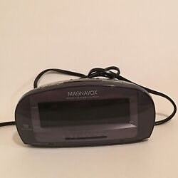 Magnavox MCR140 Dual Alarm Clock Radio AM/FM MCR140/17 Big Display