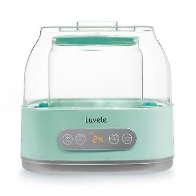 Luvele Pure Plus Yogurt Maker 2L Glass Container Scd   Gaps Diet Friendly