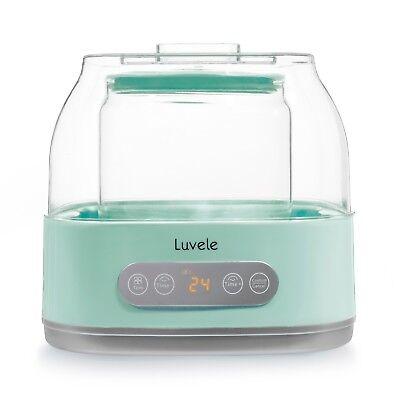 Luvele Pure Plus Yogurt Maker 2L Glass Container SCD & GAPS Diet Friendly