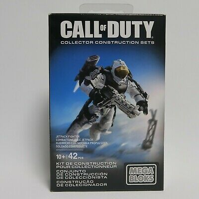 Mega Bloks Call of Duty Jetpack Fighter New Sealed call of duty Figure