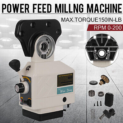 As-250 X-axis Torque 150 In-lb Power Feed Milling Machine 200prm For Bridgeport