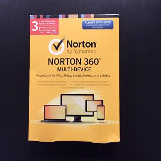 Norton 360 Antivirus Software (PC, Mac, iPad, tablet, iPhone) South Brisbane Brisbane South West Preview