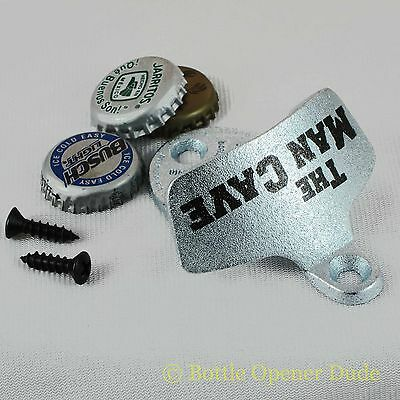 THE MAN CAVE Starr X Wall Mount Bottle Opener NEW!