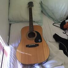 Epiphone guitar Terrigal Gosford Area Preview