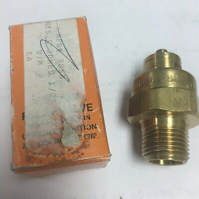 New In Box Cash Acme Vacuum Relief Valve Vr 801 12 Lead Free Threaded Npt S10