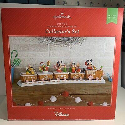 2016 Hallmark Disney Christmas Express Collector's Train Set XKT2299 Special Ed.