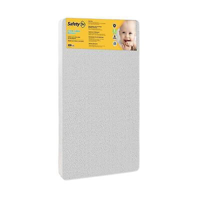 """Safety 1st Sweet Dreams 5"""" Thermo-Bonded Core Firm Crib & Mattress, Polka Dots"""