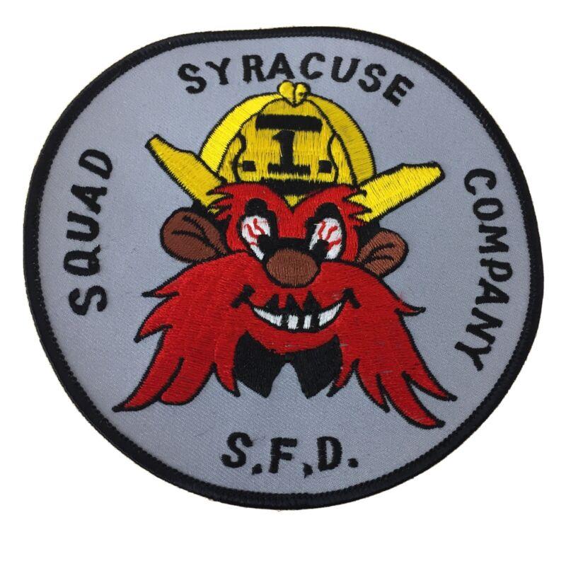 Syracuse Fire Department Squad Company SFD New AR117