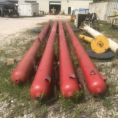Steel Nitrogen Fluorine Gas Chemical Air Storage Cylinder 2000 Psi - 40 Feet