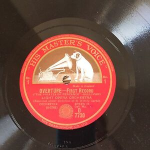 The Pirates of Penzance 11 Record Set 78 rpm Light Opera Orchestr Brighton Holdfast Bay Preview
