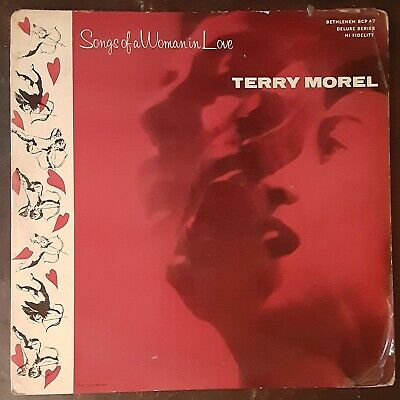 TERRY MOREL Songs Of A Woman In Love -1956 LP Jazz Vocal - MONO -  FREE SHIPPING