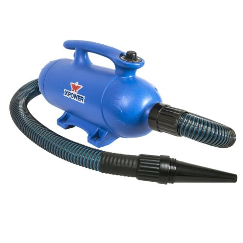 XPOWER B-25 Pro Force Plus Double Motor Dog Grooming Blaster Force Pet Dryer