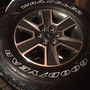 pneus et mag f-150