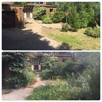 Lawn and Garden Maintenance/Spring Clean Up/Shrub & Tree Removal