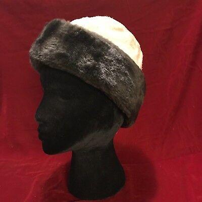 NORTH KING Genuine Leather  Fur Vintage JJ SEIFTER & SON Medium Cossack Hat