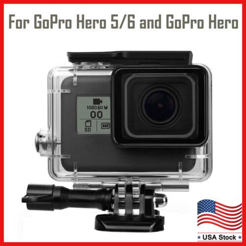 For GoPro Hero 5 Black/GoPro Hero 6/GoPro Hero Waterproof Protective Cover Case