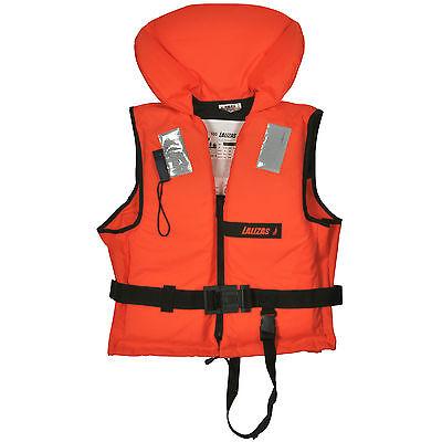 Rettungsweste 70-90kg Schwimmweste ISO 12402-4 Feststoffweste 100N
