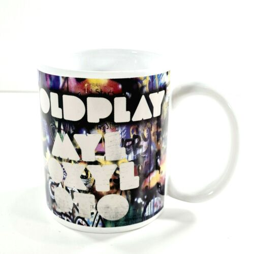 COLDPLAY 2012 Mylo Xyloto Collectible Concert Tea Coffee Mug