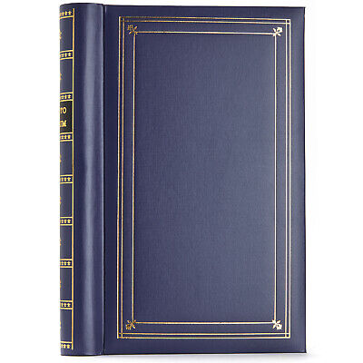 "Pioneer Photo Album Bi-Directional Memo Pocket Album Bay Blue 300 4"" x 6"" Photo"