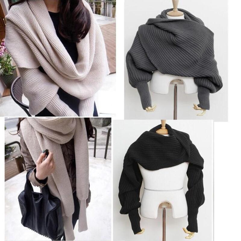 Scarf - Women's Fashion Winter Warm Soft Wool Scarf Pretty Long Wrap Shawl Scarves US