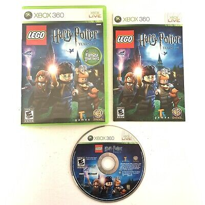 LEGO HARRY POTTER: YEARS 1-4 Microsoft XBox 360 Game Complete With Manual CIB